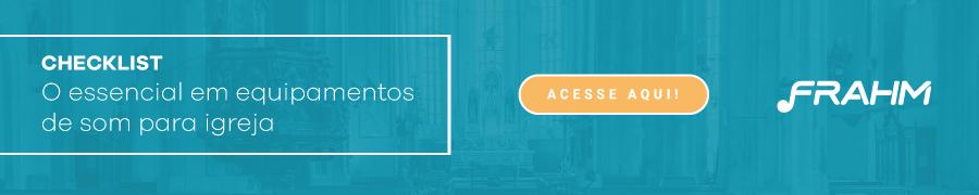 Equipamentos de som para igreja