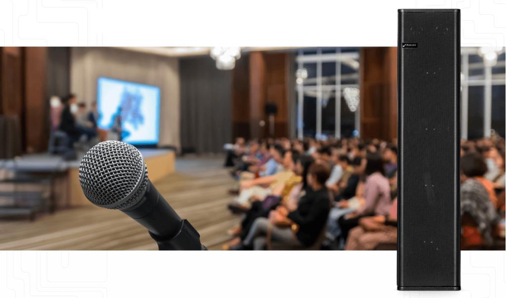 Caixa de som para voz profissional: conheça a nova linha FCV 120.6 da Frahm